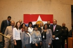 Council Member Vonciel Hll & members of the Dallas Black Chamber of Commerce